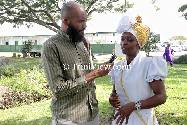 TriniView.com reporter interviews Gail Marilyn Edenborough