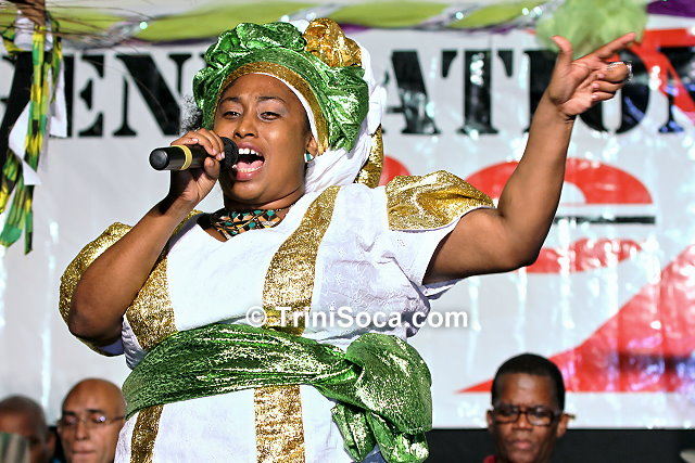 Ife Alleyne, reigning National Calypso Queen
