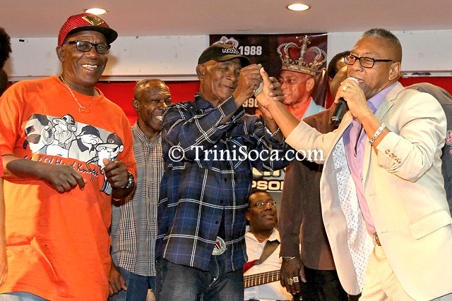 Icons Calypso Tent Judging Night 2016