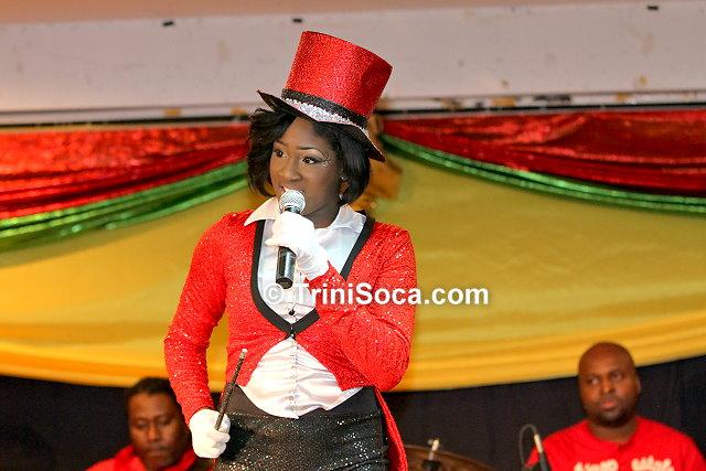 Sandra 'Trini Barbie' Sipio performs 'Political Magic'