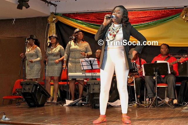 Tameka Darius performs 'Finally'
