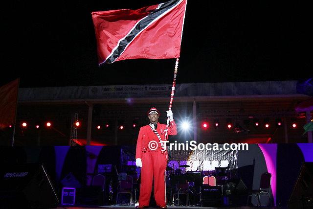 Flag-bearer, Mr. Hurbert  Diaz