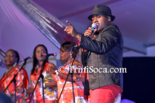 Roderick 'Chucky' Gordon' performs 'The Rose', the song that won him the title of Calypso Monarch 2015