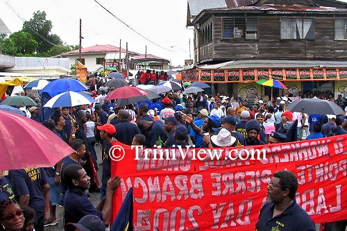 Labour Day in Trinidad and Tobago signifying the beginning of an uprising of laborers in Fyzabad in 1937