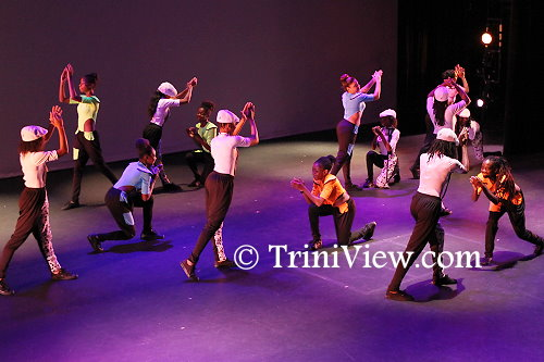Dancers perform Takiyha Springer's choreography titiled 'Forever Young'