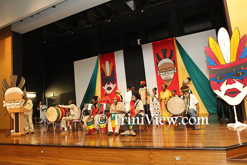 A Nyabinghi style drumming and invocation by the Trinidad and Tobago All Mansion Rastafarians