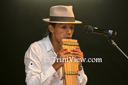 Member of the Yuyaric Kayna from Ecuador