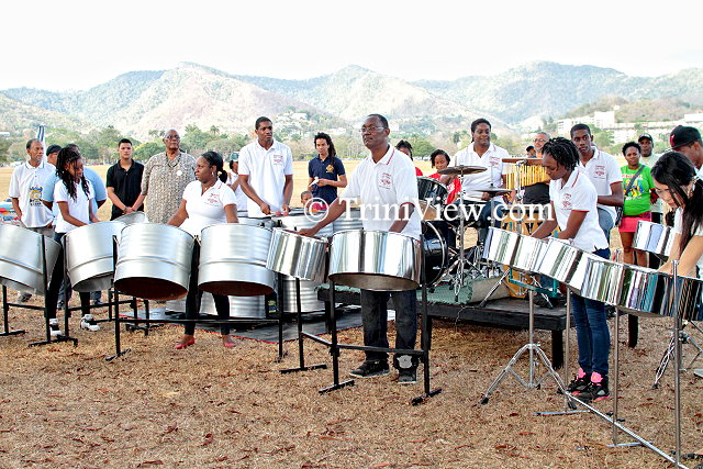 The Codrington Pan Family and friends play a few songs in memory of Asamai Nagakiya