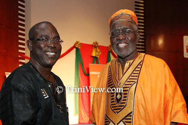 Senator the Honourable Kwasi Mutema and Chief Servant Makandal Daaga