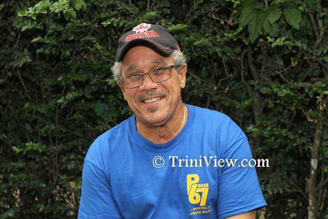 Richard Critchlow, one of the directors at the Yahweh Foundation, Tobago and also a member of Posse 67