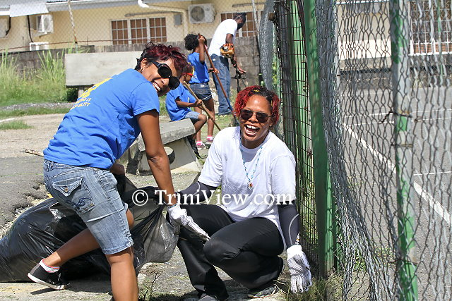 Posse 67 Clean-up at St. Dominic's Ground