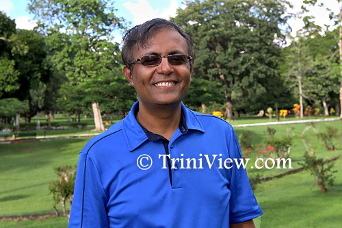 Head of UWI's Department of Life Sciences, microbiologist Dr. Adesh Ramsubhag