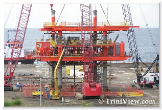 Trinidad Raises First Offshore Gas Rig