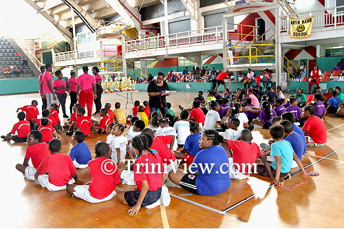 Schools at the Jean Pierre Complex for the Yoplait, Vita Coca Jump Rope Open Championships