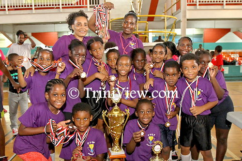 Diamond Vale Government Primary School - First place winners in the Yoplait, Vita Coca Jump Rope Open Championships