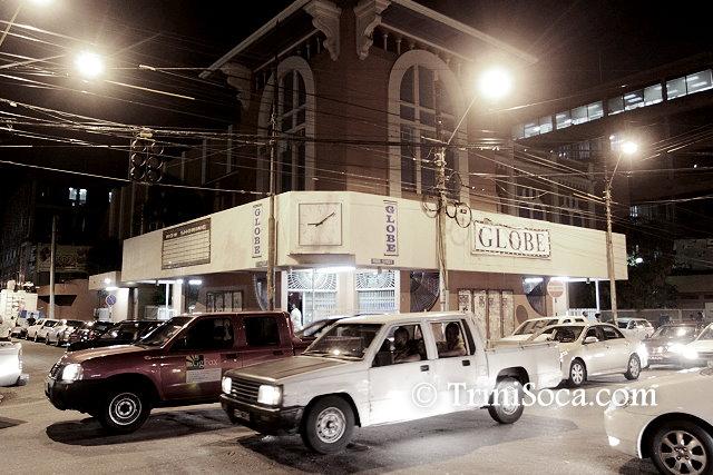 Globe Cinema at Green Corner Port of Spain