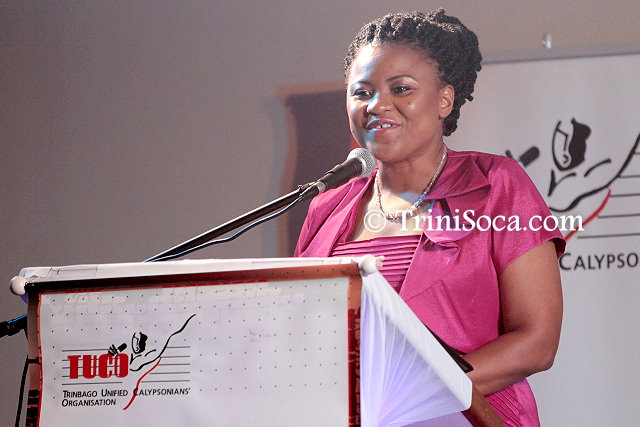 Minister of Community Development, Culture and the Arts Dr. Nyan Gadsby-Dolly