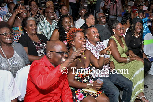 Members of the audience at the TUCO National Kaisoca Karaoke Finals, Mas Camp Pub