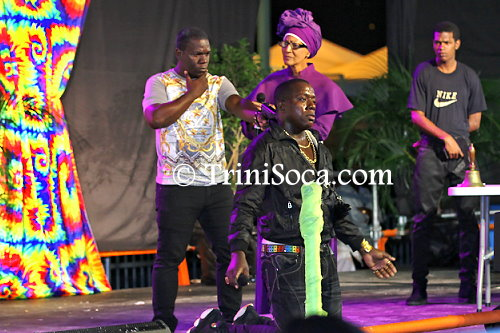 Arnold Jordan performs 'This Is My Life', the song that won him the 2015 Young Kings Calypso Monarch title