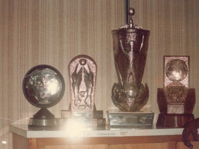 1986 Junior Concacaf Finals - Trophies made by Glendon Morris