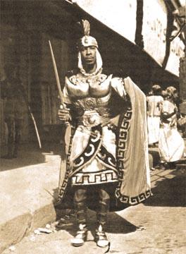 Ken Morris 1955, in one of his copper breastplates