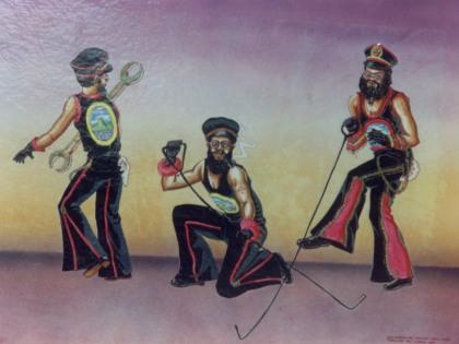 Sketch of Firemen Sailors