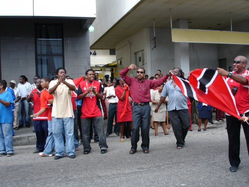 Celebrations in Port of Spain