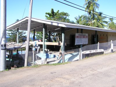 Blanchisseuse Fishing Center