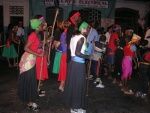 Re-enactment of Port of Spain Canboulay Riots 1881