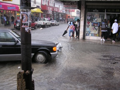 Image result for port of spain flood today