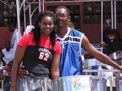 Parents Cary and Karen Codrington