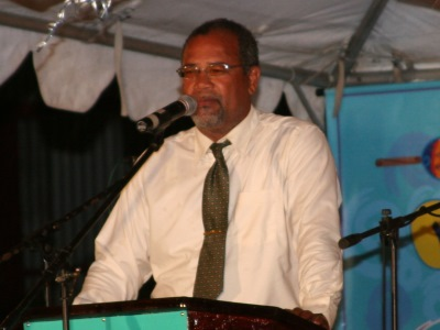 President of the National Parang Association of Trinidad and Tobago - Mr Michael Lezama