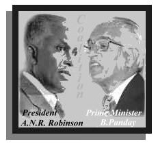 President A.N.R Robinson and Prime Minister Basdeo Panday